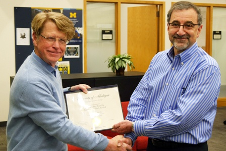 ISD's Harvey Bell Wins Faculty Accomplishment Award