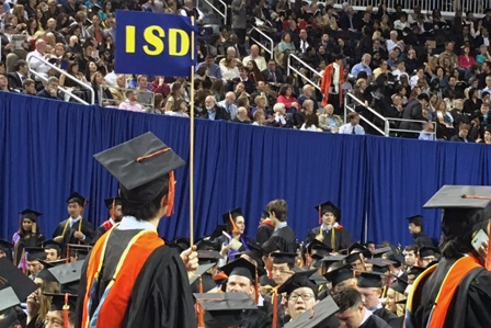 ISD Impacts COE Spring Commencement