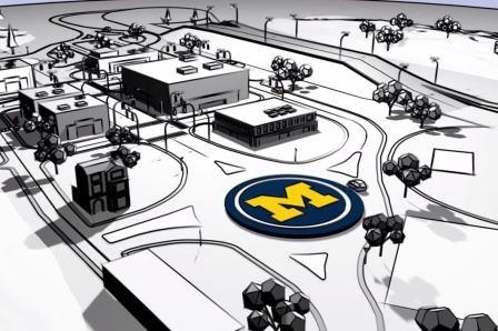 U-M's cityscape will test driverless vehicles