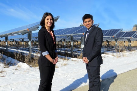 Two Energy Systems Engineering students named Dow Sustainability Fellows