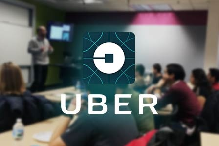 Students Learn From Uber Engineer
