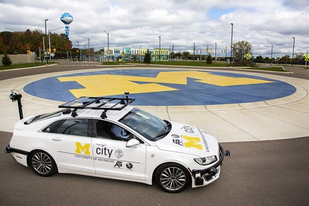 Driving the Automated Vehicle Movement