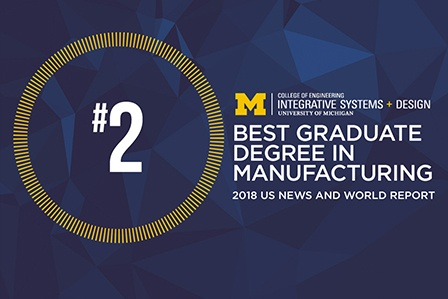 Manufacturing and Systems Engineering Programs Ranked #2
