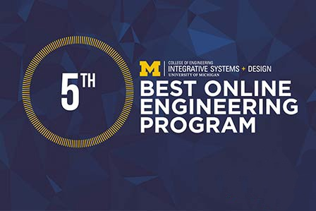 ISD Ranked as 5th Best Online Engineering Program