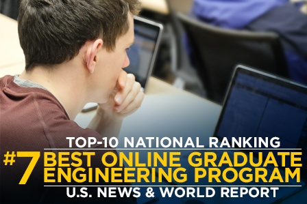 ISD Earns National Ranking for Best Online Graduate Engineering Program