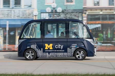 Michigan's New Motor City: Ann Arbor as a Driverless-Car Hub