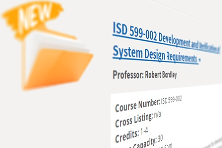 Systems Engineering + Design (SE+D) Degree Offering New Courses, Increased Online Availability