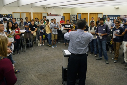 ISD Hosts Inaugural Student Welcome Event